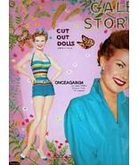 VINTAGE UNCUT 1958 GALE STORM PAPER DOLLS~#1 REPRODUCTION~CLASSIC/NOSTAL... - $17.50