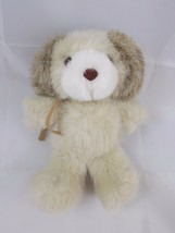"Russ Soft n Suede Dog Plush Pet 6"" Stuffed Animal toy - $7.95"