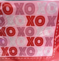 VALENTINES NAPKINS WITH XOXO IN RED, PINK, WHITE - $4.00