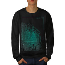 Buenos Aires City Fashion Jumper Hot Argentina Men Sweatshirt - $18.99+