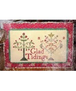 Glad Tidings cross stitch chart Needlework Press - $7.20