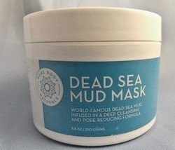 Dead Sea Mud Mask for Face and Body, Purifying Face Mask for Acne, Black... - $11.83
