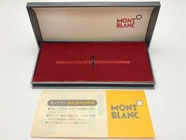 Vintage Montblanc Pen Case [015] - $22.77