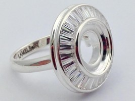 Authentic Kameleon 925 Silver The Showstopper Ring Ring Kr-35 Kr035 Size... - $67.92
