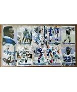 Emmitt Smith Signed 1993 Pro Set 10 Card Uncut Sheet #4920/7500 - $149.99