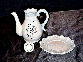Elements Candle Holder3 Piece Pitcher Plate with LidVintageAA18-1221 image 6