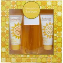 SUNFLOWERS by Elizabeth Arden EDT SPRAY 3.3 OZ & BODY LOTION 3.3 OZ & CR... - $31.50