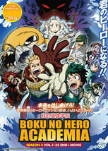 Boku No Hero Academia Season 4 DVD Eps 1 - 25 end + Movie English Dubbed USA