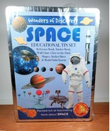 Wonders of Learning Discover Space Educational Tin Box Set New - $29.65