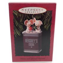 Hershey Chocolate Mice Mouse Hallmark Christmas Tree Keepsake Ornament I... - $9.87