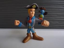 Hanna Barbera Scooby Doo Fred Pirate Bird Action Figure - $7.11