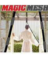 Magic Mesh Hands-Free Screen Net Magnetic Anti Mosquito Bug Door Curtain... - $10.95