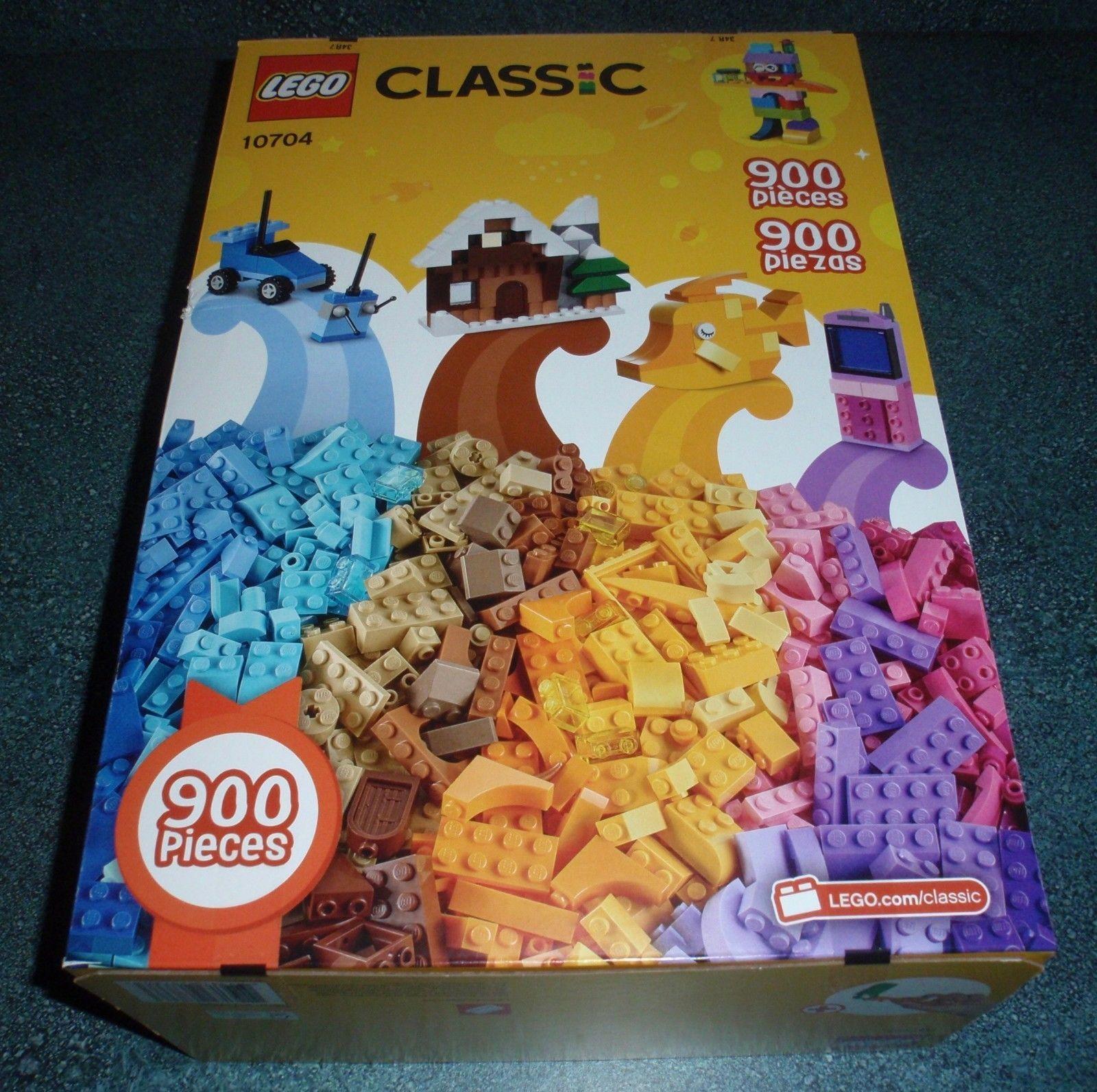 Lego Classic Creative 10704 Box 900 Pieces BRAND NEW SEALED BOX 4-99 In Bulk