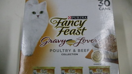 Cat food - Fancy Feast Gravy Lovers Poultry&Beef Feast Collection Wet Ca... - $17.00