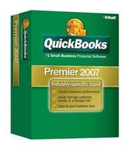 QuickBooks Premier Edition 2007 [OLDER VERSION] - $340.00