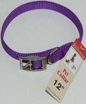 Valhoma 720 12 PR Dog Collar Purple Single Layer Nylon 12 inches Package 1 image 4