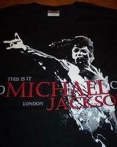 MICHAEL JACKSON THIS IS IT  LONDON T-shirt XL NEW - $19.80