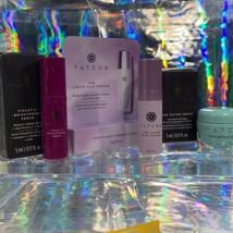 NEW IN BOX Tatcha Liquid Silk Canvas 5mL Violet C Serum 5mL Water Cream 5mL image 2