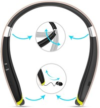[Newest Design] Foldable Bluetooth Headset,Pkman and trade; Upgrade Wir... - $116.54