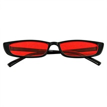 Rectangular Pequeño Sunglasses Hombre Mujer Vintage Retro Modernas UV - $11.46