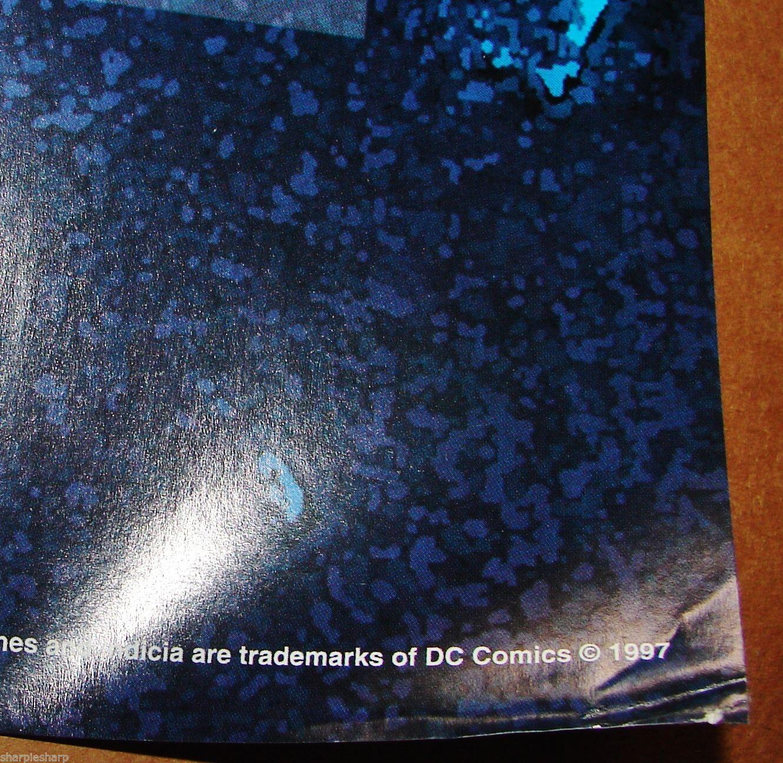 "1997 BATMAN & ROBIN Movie MR. FREEZE Original POSTER 23x34.5"" 3182 DC Comics  1"