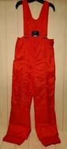 Vintage White Stag Red Ski Bibs Size 36 Unisex Snowski Snowboard Overall... - $21.56