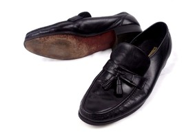 Moc Loafers Black Toe D Mens Florsheim Tassels Penny Leather Shoes Size 12 xTSqaBO