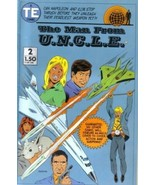 The Man From U.N.C.L.E. Comic Book #2, Entertainment 1987 VERY FINE- NEW... - $2.99
