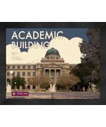 "Texas A&M University ""Academic Building"" 13 x 16 Art Deco Framed Print  - $39.95"