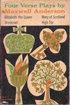 Four Verse Plays (Harvest Books, 25) [Jun 01, 1959] Anderson, Maxwell - $14.62