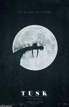 2014 TUSK Movie Poster 11x17 Kevin Smith Horror Film Michael Parks Justi... - $7.99