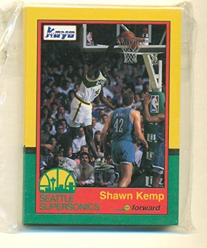 1991 Kayo Seattle Supersonics Complete Set - Shawn Kemp - Gary Payron - Basketba