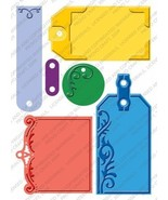 Cuttlebug Provo Craft Plus Embossing Folders, Embossed Tags - $14.06