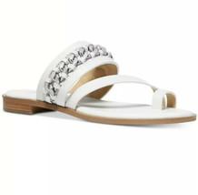 Nib Michael Kors Bergen Toe Thong Flat Sandal Msrp $115.00 Mult Sizes - $62.99