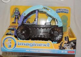New Fisher Price Imaginext Mr. Freeze Snowcat DC Comics Batman Car Tank - $19.79