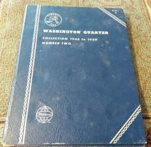 Used Whitman Coin Folder - Washington Quarters - Number Two 1946-1959 - ... - $5.90