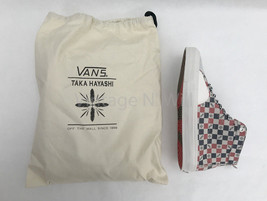 VANS x Taka Hayashi Mens 9 Sk8 Skool LX Nubuck/Hairy Suede Check Plaid H... - $119.00