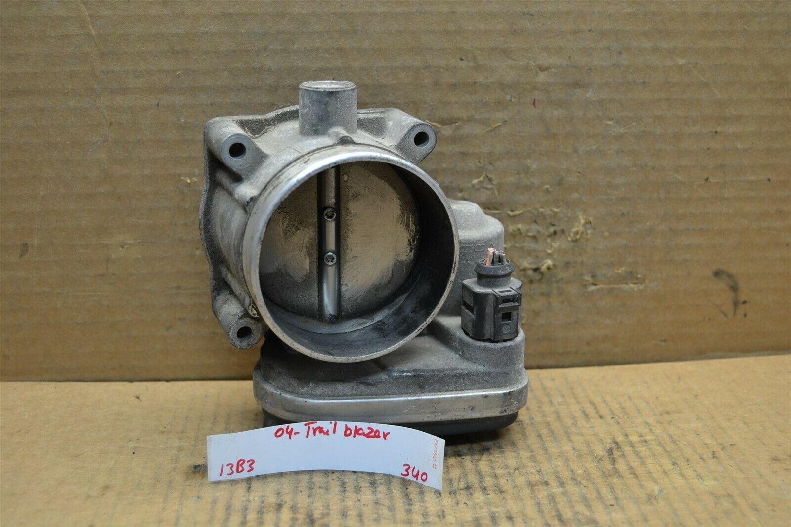 2004 Chevrolet Trail Blazer Throttle Body OEM 5718201 Assembly 340-13b3 - $24.99