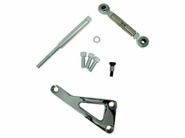 Top Street Performance JM9101C Chrome Aluminum Alternator Bracket Kit