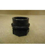Canplas Coupler Black 1 1/2in x 1 1/2in Compression x Spigot Plumbing ABS - $7.11