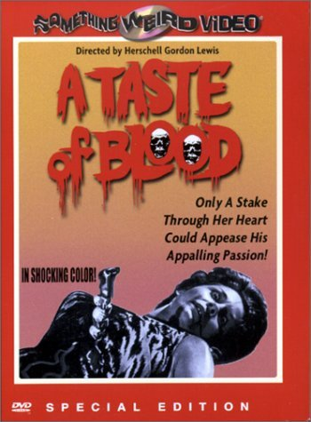 A Taste Of Blood (1967) DVD