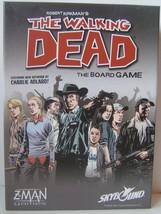 The Walking Dead Board Game Z Man Games Complete Robert Kirkman 2011 - $20.10
