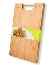jaszmer Natural Bamboo Cutting Board, Preminum Wood Cutting Board Multi-... - $19.84