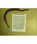 St.Theresa Sacrifice Beads - Plastic Beads -R-3 - $1.99