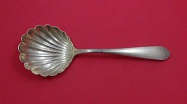 "Wadefield by Kirk-Stieff Sterling Silver Berry Spoon with Shell Bowl 8"" - $179.55"