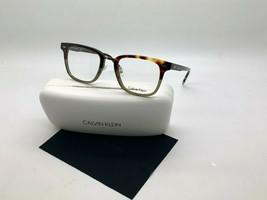 Calvin Klein CK6006 217 HAVANA/KHAKI Women's Eyeglasses Frames 51-21-145MM/CASE - $36.82