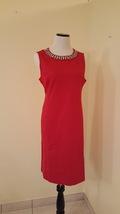 Liz Claiborne - Red Sheath Dress - $19.00