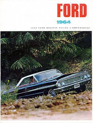 Primary image for 1964 Ford Galaxie 500/XL 2 Door Hardtop - Promotional Advertising Poster