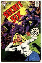 SECRET SIX #5-comic book DC-1968 NM- silver age - $24.83