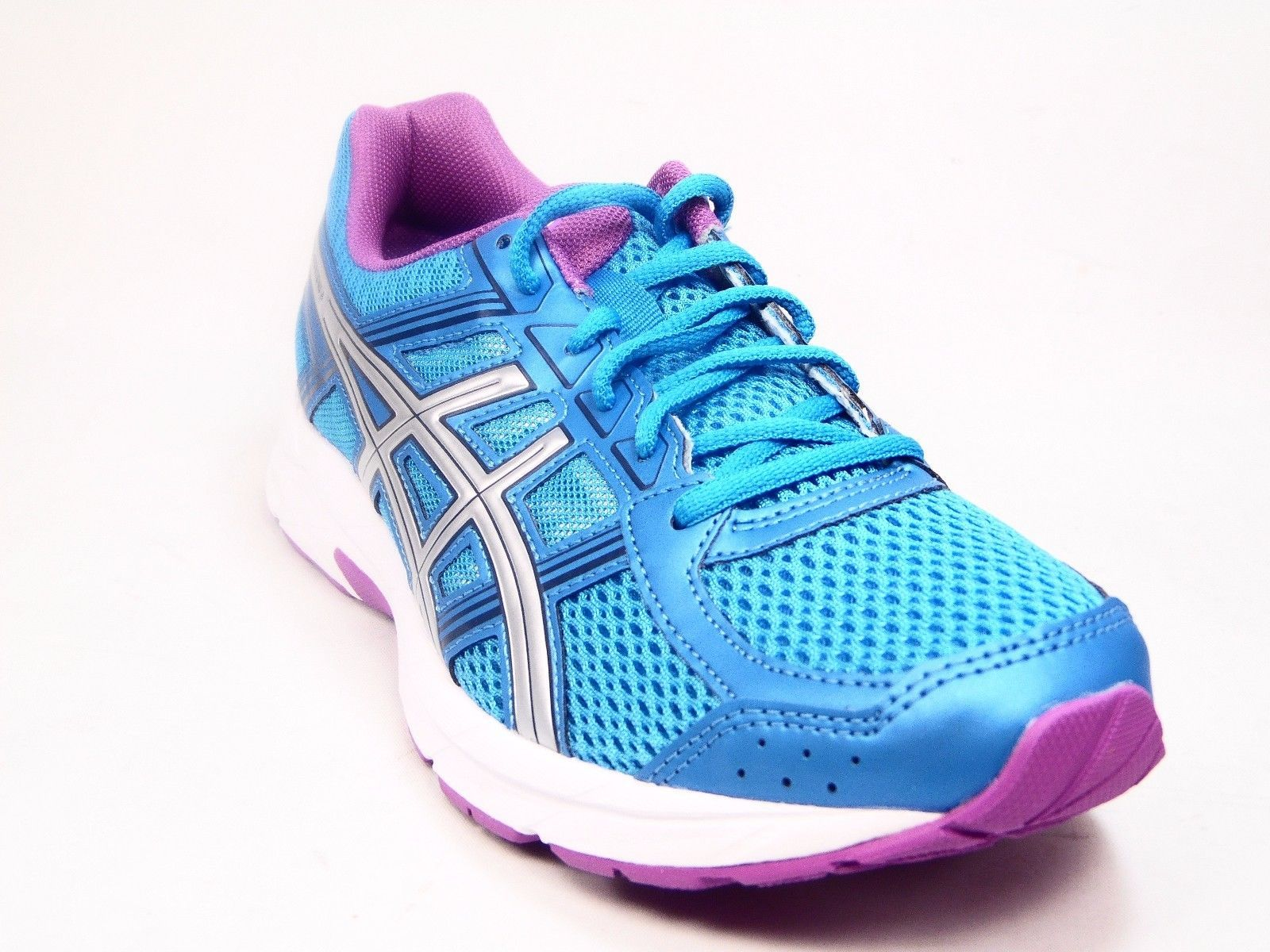 buy popular 089d2 91ea4 ASICS Women s Gel-Contend 4 Running Shoe Diva Blue Silver Orchid Size 8M